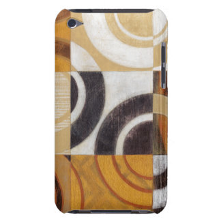 Modern Painting with Circular Patterns Barely There iPod Covers