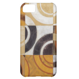 Modern Painting with Circular Patterns iPhone 5C Case