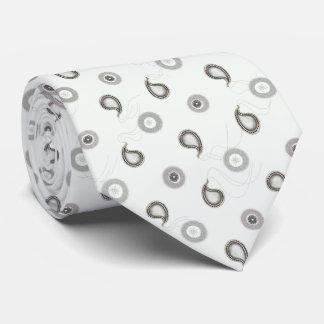 Modern Paisley Pattern Tie