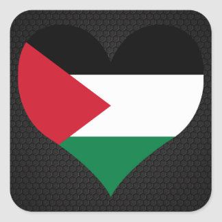 Modern Palestinian flag Square Sticker