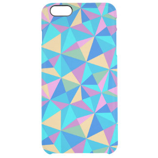 Modern Pastel Colorful Geometric Pattern iPhone 6 Plus Case