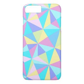 Modern Pastel Colorful Geometric Pattern iPhone 7 Plus Case