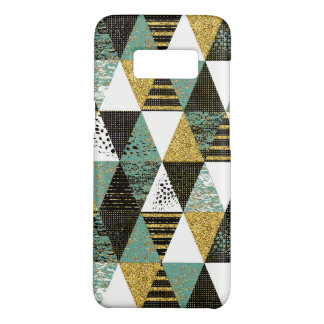 Modern Pastel Colors & Textures Triangles Pattern Case-Mate Samsung Galaxy S8 Case