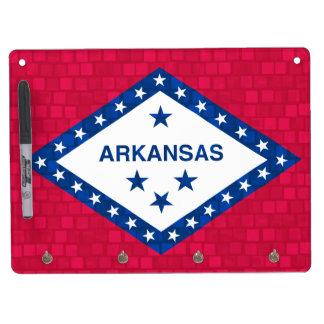 Modern Pattern Arkansan Flag Dry Erase Whiteboards