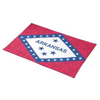 Modern Pattern Arkansan Flag Placemats
