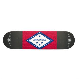 Modern Pattern Arkansan Flag Skateboard