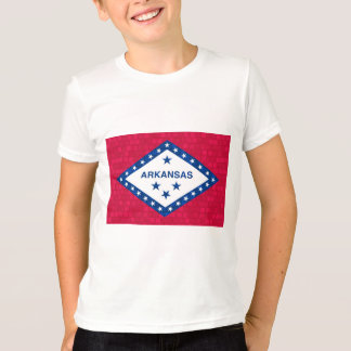 Modern Pattern Arkansan Flag T-Shirt