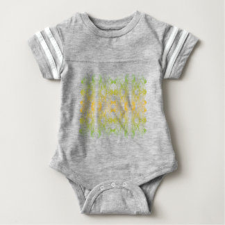 Modern Pattern Baby Bodysuit
