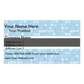 Modern Pattern Batswana Flag Pack Of Standard Business Cards