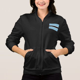 Modern Pattern Batswana Flag Printed Jackets