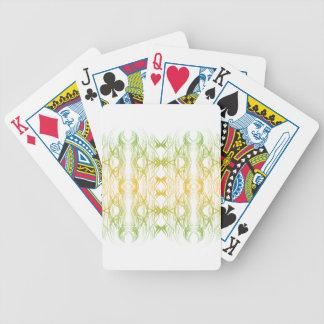 Modern Pattern Bicycle Playing Cards