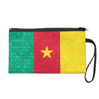Modern Pattern Cameroonian Flag Wristlets