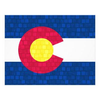 Modern Pattern Coloradan Flag Flyers