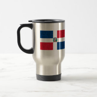Modern Pattern Dominican Flag Coffee Mugs