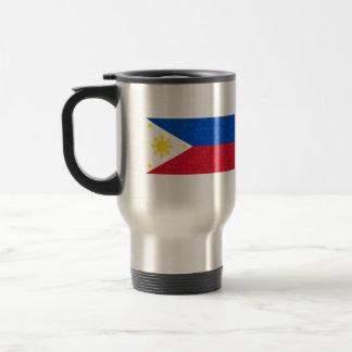 Modern Pattern Filipino Flag Coffee Mugs