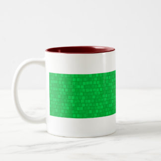 Modern Pattern Libyan Flag Two-Tone Mug