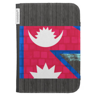 Modern Pattern Nepalese Flag Kindle Cases