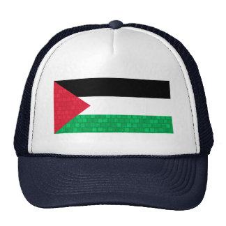 Modern Pattern Palestinian Flag Trucker Hats