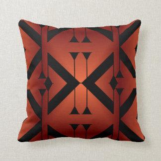 Modern Pattern Pillow-Home -Copper/Black Cushion