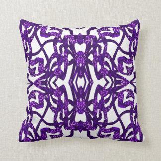 Modern Pattern Pillow-Home Decor-Purple/Blue/White Throw Pillow