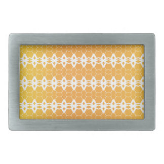 Modern pattern rectangular belt buckles