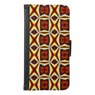 Modern pattern samsung galaxy s6 wallet case