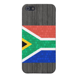 Modern Pattern South African Flag Covers For iPhone 5