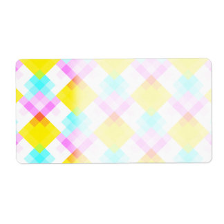 Modern Pattern with Bright Colors and Pastels.