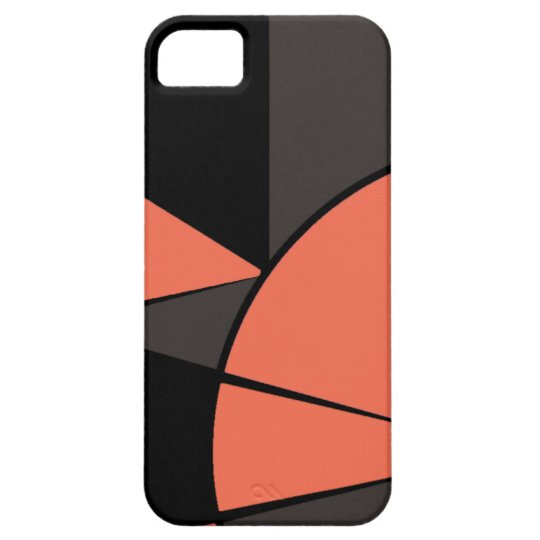 Modern Peachmore Barely There iPhone 5 Case