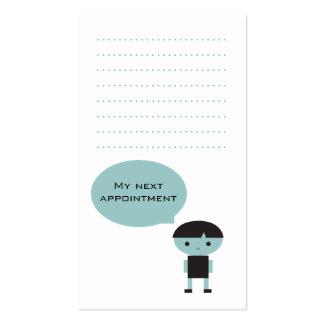 Modern Pediatric Dental Care Business Card
