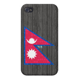 Modern Pern Nepalese Flag iPhone 4/4S Covers