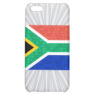 Modern Pern South African Flag Case For iPhone 5C