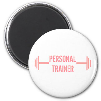 Modern Personal Trainer Magnet