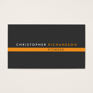 Modern Personal Trainer No. 1 Business Card