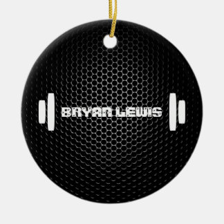 Modern Personal Trainer Ornament