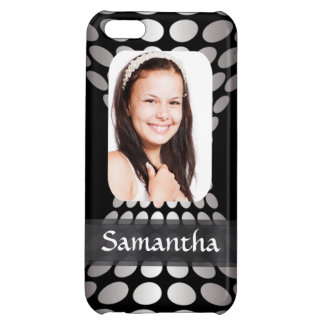 Modern personalized photo template iPhone 5C case