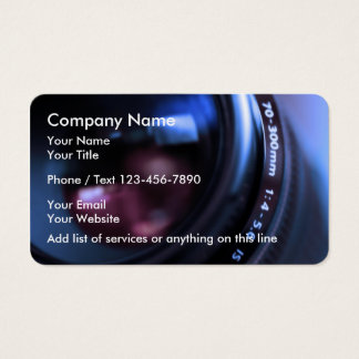 Modern Photography Businesscards