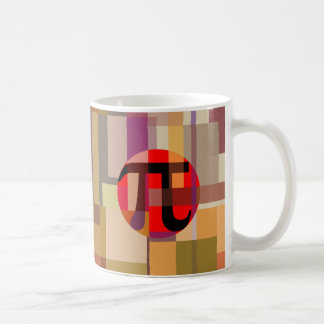 Modern Pi Composition, Geometric Coffee Mug