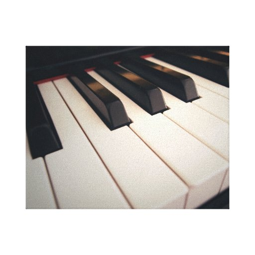 Modern Piano Canvas Canvas Prints
