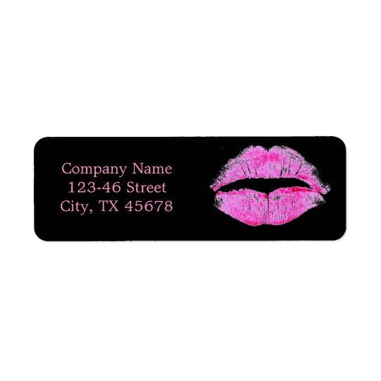 modern pink lips Makeup Artist cosmetologist