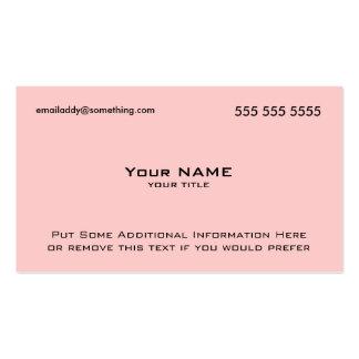 Modern Pink QR Code Pack Of Standard Business Cards