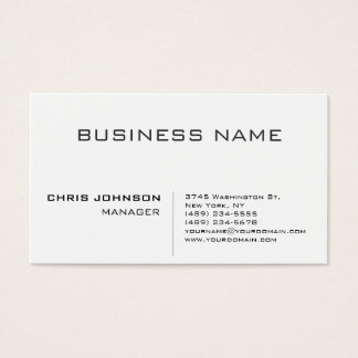 Modern Plain Minimalist Charming Manager