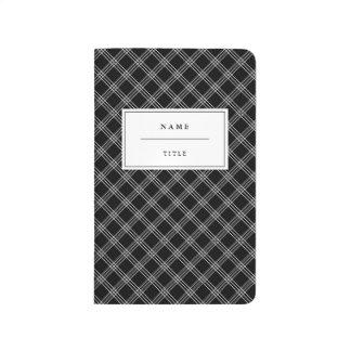 Modern Pocket Journal for Him - Black