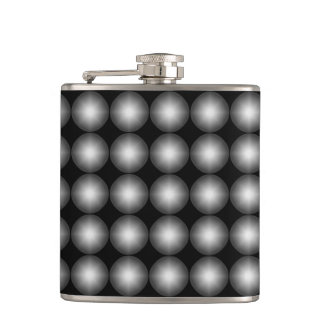 Modern Polka Dot Hip Flask