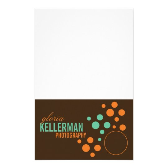 Modern Polka Dot Notepad Customized Stationery
