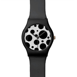 Modern Polka Dot Wristwatch
