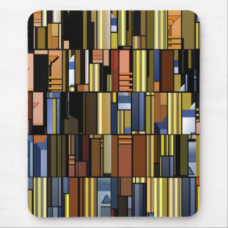 Modern pop art design mouse pad