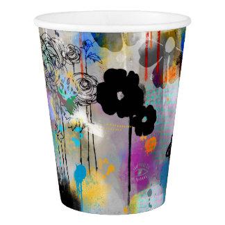 Modern Print Paper Cup