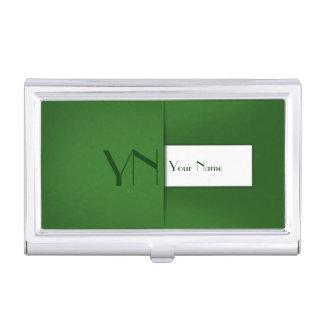 Modern Profession Green Case Business Card Holder