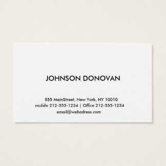 MODERN PROFESSIONAL BUSINESS CARD 01